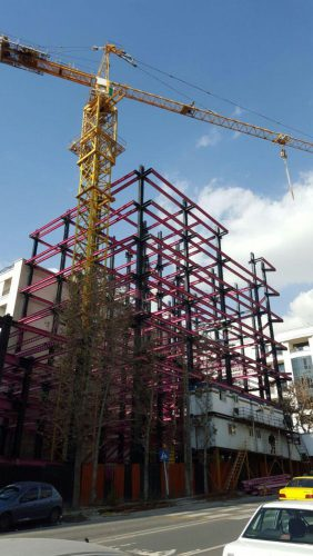 طراحی،ساخت و نصب سازه های فولادی