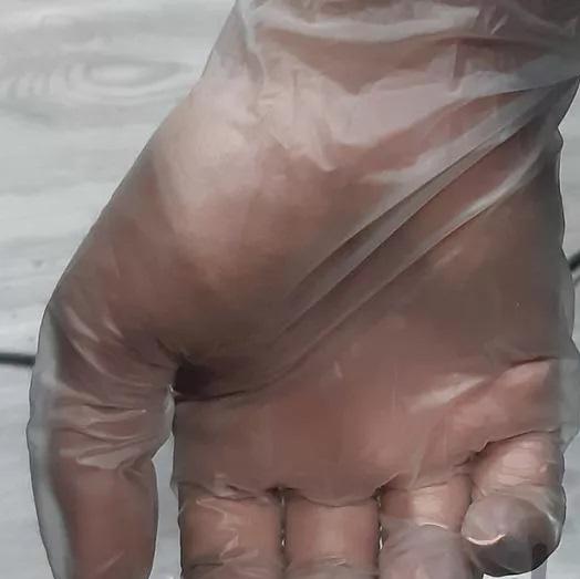 فروش عمده دستکش یکبار مصرف وینیل بدون پودر