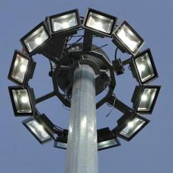 برج نوری تلسکوپی با پرژکتور معمولی