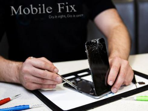 تعمیر موبایل آیفون