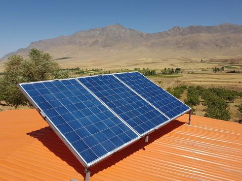 تامین برق ویلاهای زیبا و لاکچری با پنل خورشیدی