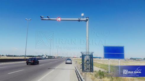 تولید و نصب دکل های دوربین ترافیکی