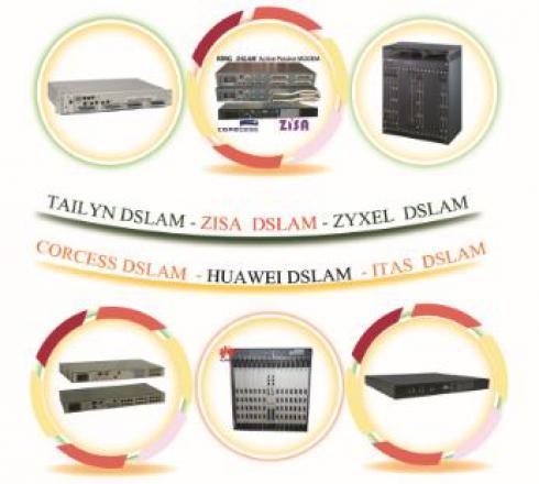 خریدوفروش انواع دیسلم DSLAM Corcess,HUAWEI,ITAS,tailyn,zisa,Zyxe...