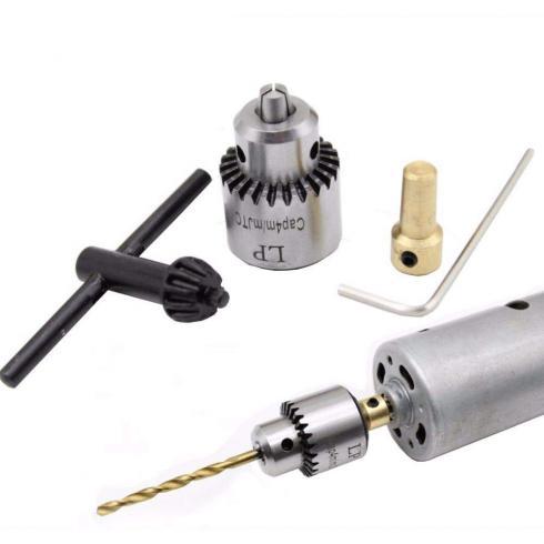 سه نظام مینیاتوری 0.3mm الی 4mm