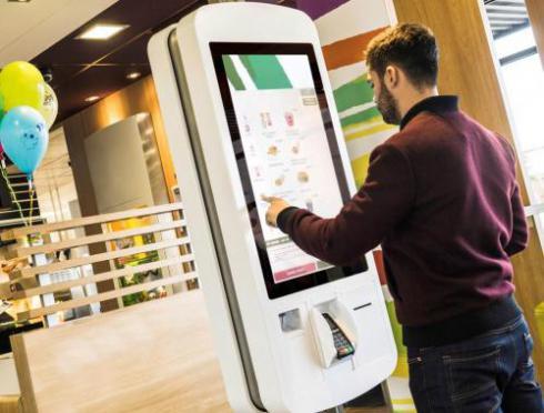 کیوسک هوشمند لمسی self-order