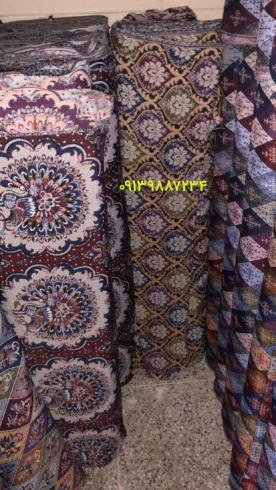 تولیدی نیرباف : تولید پارچه جاجیم ترکمن (ژاکاردی)
