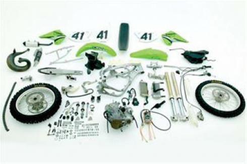 فروش لوازم یدکی موتورسیکلت های ورزشی و سنگین