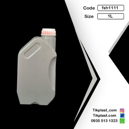 تولید ظروف پلاستیکی روغن موتور یک لیتری
