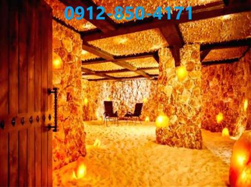 طراحی و اجرای اتاق نمک به روش غار نمکی