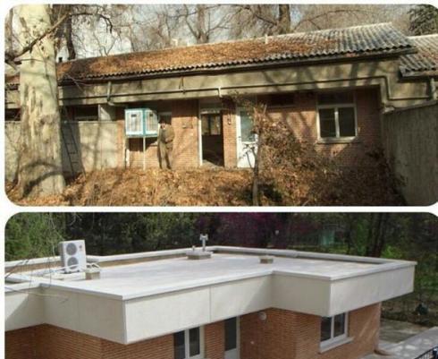 طراحی داخلی و بازسازی ساختمان