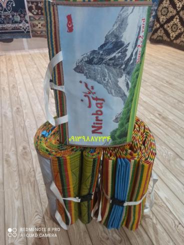 تولید حصیر پلاستیکی + زیر انداز جاجیمی ارزان