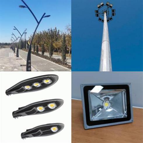 تولید کننده و تامین کننده انواع برج روشنایی