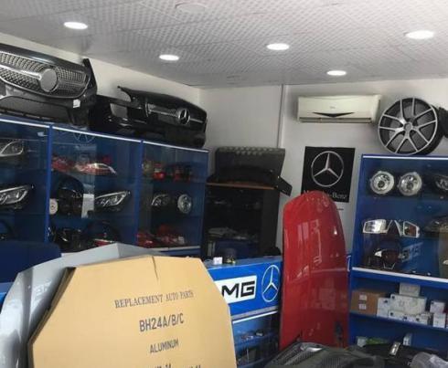 نمایندگی فروش لوازم یدکی پورشه - بی ام و BMW - بنز