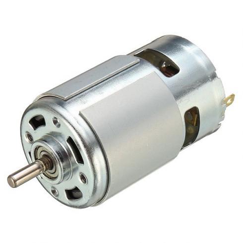 اسپیندل 12V24V DC دور بالا 775 برای Mini CNC