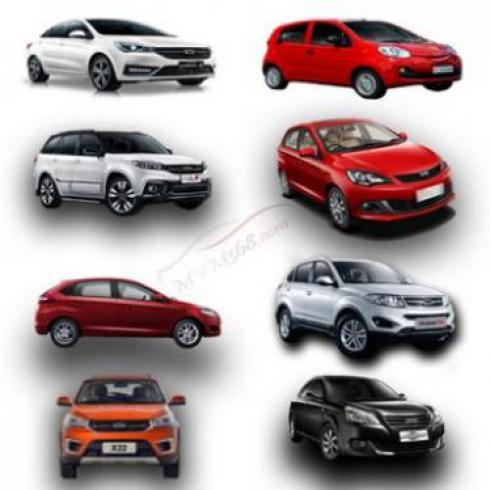 فروش اقساطی انواع خودرو های با کیفیت MVM و Cherry