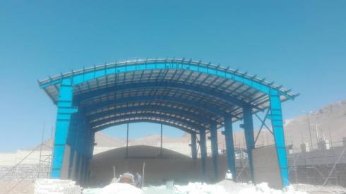 تعمیر و اب بندی ، پوشش سقف سوله تعویض