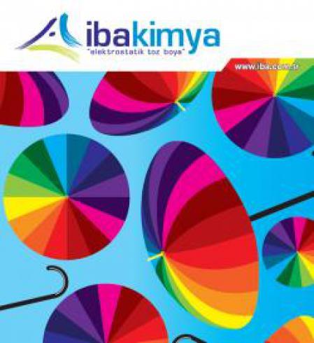 رنگ پودری الکترواستاتیک ایبا ترکیه iba kimya
