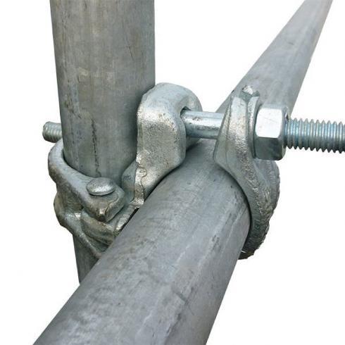 فروش وتولید لوازم داربست فلزی کارکرده ونو -فروش بست فولادی ورقی پرس شده  کارکرده  ونو