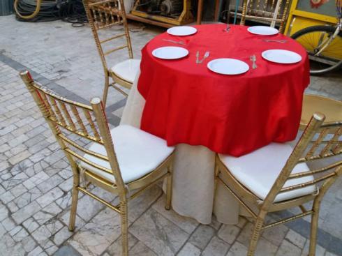 کرایه انواع میز و صندلی ظروف چینی . ملامین . آرکوپال
