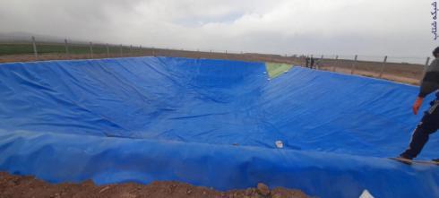 :: احداث استخرهای کشاورزی وصنعتی باورق ژئوممبران