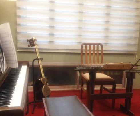 آموزشگاه موسیقی سایبان هنر،حضور اساتید برجسته کشور