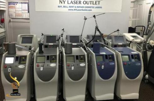 فروش انواع دستگاه های لیزر پوست و زیبایی و کلیه قطعات
