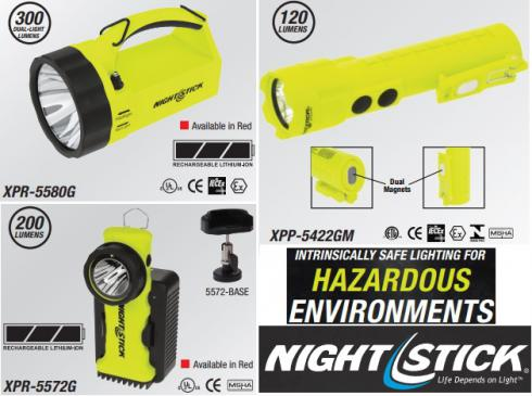چراغ قوه ضد انفجار NightStick - Bayco ٍExplosion Proof