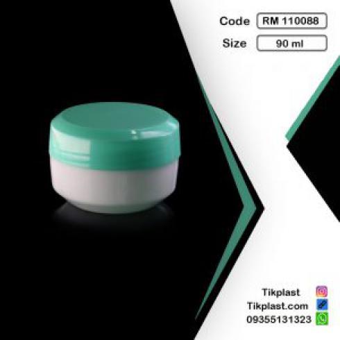 تولید کننده انواع قوطی کرم داروگر 90 میل با رنگبندی + درب