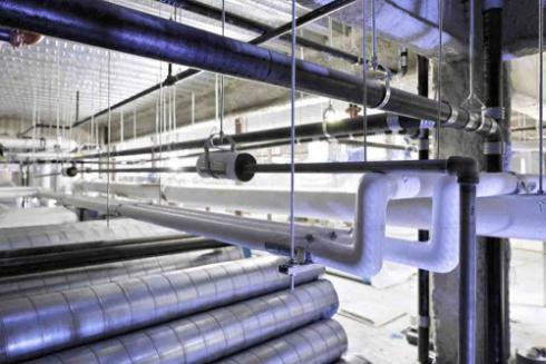 کلیه سیستمهای تهویه مطبوع و تاسیسات مکانیک و برق