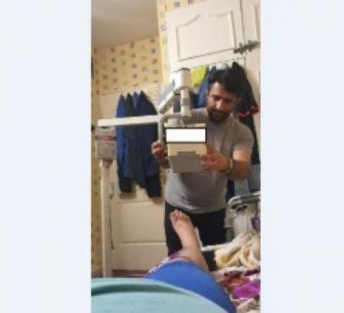 رادیولوژی پرتابل در منزل امید