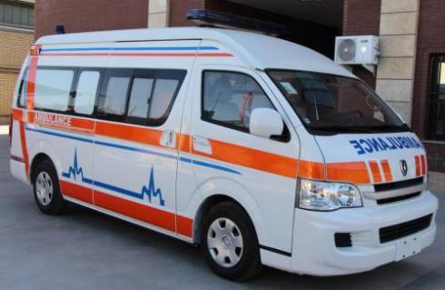 آمبولانس هایس (AMBULANCE Jinbei Haise H2L 2700cc)