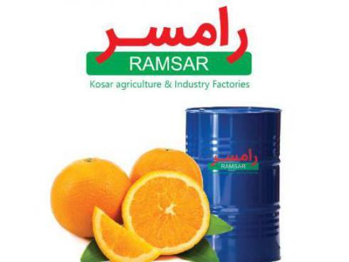 کنسانتره پرتقال ، روغن زرد پوست پرتقال و اسانس پرتقال
