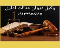 وکیل تخصصی دیوان عدالت اداری