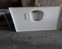 کاسه توالت فایبرگلاس(سرویس بهداشتی)