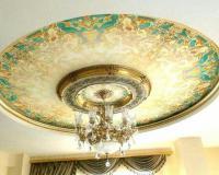 دکوراسیون داخلی کناف گچبری لوستر سقف کاذب