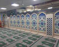 پارتیشن مسجدی پیش ساخته ، پارتیشن مسجدی ام دی اف