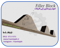 فوم زیرسازی کروگیت و پلی کربنات ( Filler Block )