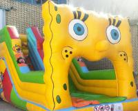 خرید سرسره بادی طرح باب اسفنجی خانه کودک