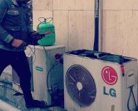کولر گازی اسپیلت(تعمیرات تخصصی) سرویس شارژگاز داکت