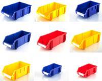 قفسه و پالت پلاستیکی (ابزار یراق و پیچ و مهره)