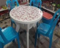 میز و صندلی و سطل و گلدان پلاستیکی به قیمت کارخانه