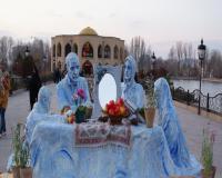 المان و مجسمه های نوروزی فایبرگلاس