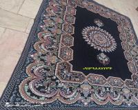 فروش عمده روفرشی زرکدار طرح فرش
