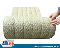 قیمت فروش / خرید عایق پشم سنگ لحافی رزین دار(فنوفلت Iso Blanket)