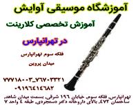 آموزش تخصصی کلارینت در تهرانپارس