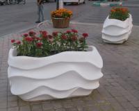 تولید و پخش گلدان های فایبرگلاس