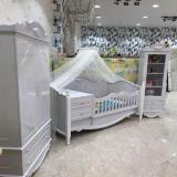 سیسمونی گلاسکو فروش انواع تخت خواب نوزاد و کمد کم جا