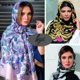چاپ و فروش عمده ی شال و روسری hps