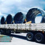 تولید لوله پلی اتیلن سایز 250 میلیمتر