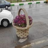 ساخت گلدان های سبدی فایبرگلاس